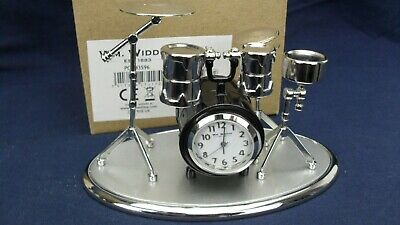 DRUM SET Widdop miniature clock BNWB