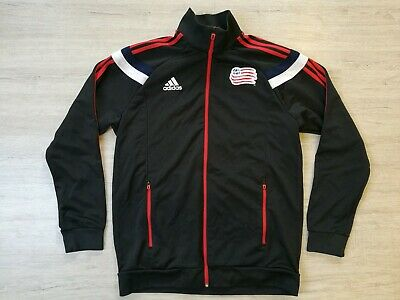 New England Revolution USA Fußball Trikot Football Soccer Shirt Jacket Adidas L