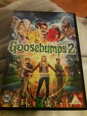 Goosebumps 2 haunted halloween 2019 Dvd. Region 2.  Jack Black