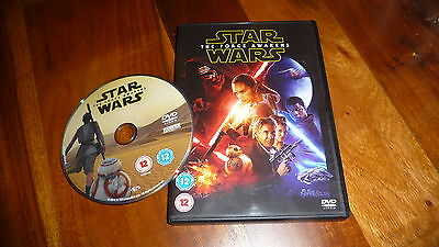 Star Wars : The Force Awakens Dvd 2016 - Fast/free Posting.