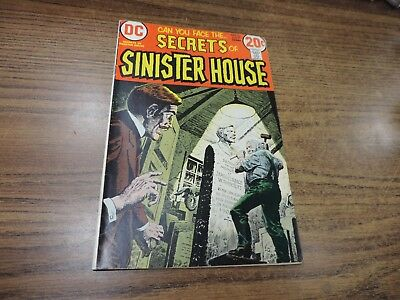 Secrets Of Sinister House # 12 DC