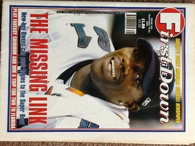 First Down American Football Weekly Newspaper  No 953  16/9/04 (Nfl)