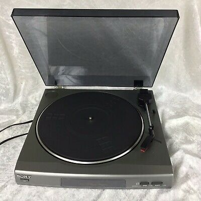 SONY PS-LX56 Turn Table Record Player Tested & Working Hi-fi Separates Phono