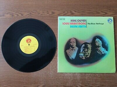 1973 MINT-King OLIVER/Louis Armstrong /Bessie Smith The Blues Heritage 7104 LP33