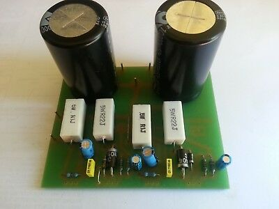 Silicon Chip A Class Amplifier Linear Power Supply 10,000 uf 50V assembled Board
