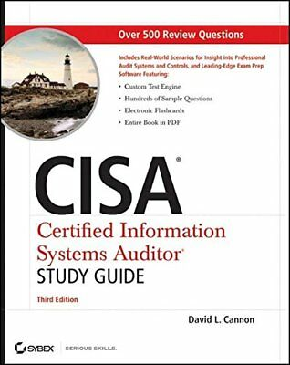 CISA Certified Information Systems Auditor Study Guide by Cannon, David L.