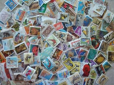 Collection of 100 Mixed Used Australian Stamps - All different