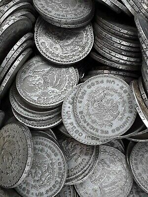 Mexican Circulated Silver Peso- One Coin