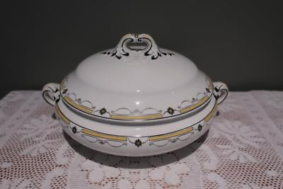 Booths Silicon China Lidded Tureen - Art Deco - 1920's - Vintage - Collectable