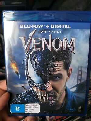 Venom (Blu-ray + digital) NEW SEALED, Tom Hardy, symbiotes,  not Spider-Man