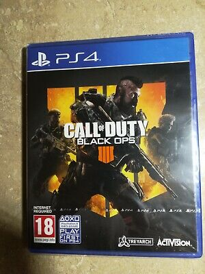 Call of Duty : Black Ops 4 with 2 Hours of 2XP + an Exclusive Calling Card (PS4)