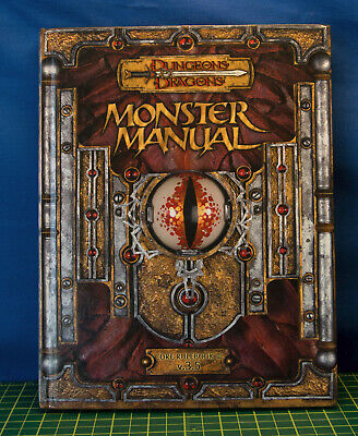 Dungeons and Dragons 3.5 Monster Manual NM D&D AD&D TSR NM