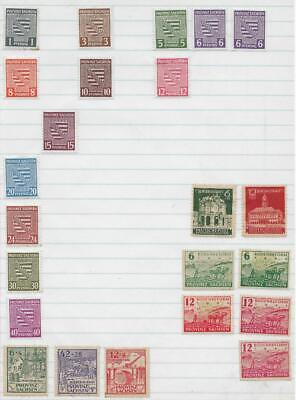 23 Saxony Stamps from Quality Old Album