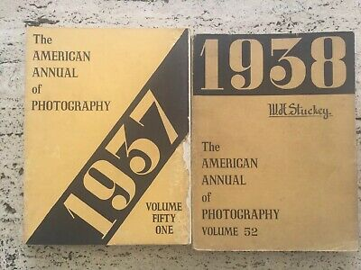 The American Annual Of Photography 1937 + 1938