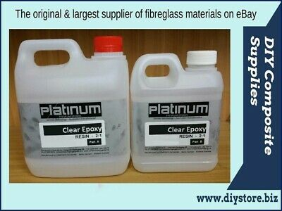 30 Ltr. SUPER Clear Casting EPOXY RESIN 2:1 kit UV (Platinum) Freight per Descr