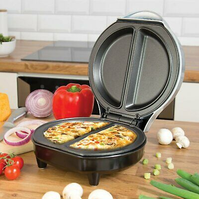750W Electric Omelette Maker Frying Pan Egg Cooker Breakfast Non Stick Cooking