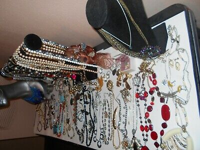 MIXED LOT OF ANTIQUE VINTAGE COSTUME +STERLING+ GOLD filled, GOLD,JEWELRY