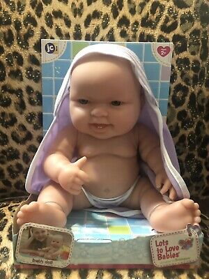 Lots To Love Babies Berenguer JC Toys Baby Bath Doll New BNWT