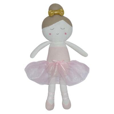 Living Textiles Softie Toy Character (Emma the Ballerina) Free Shipping!