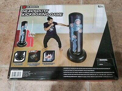 NEW Heavy Duty Kickboxing Trainer ~ MD Sports Game Punching Bag Workout