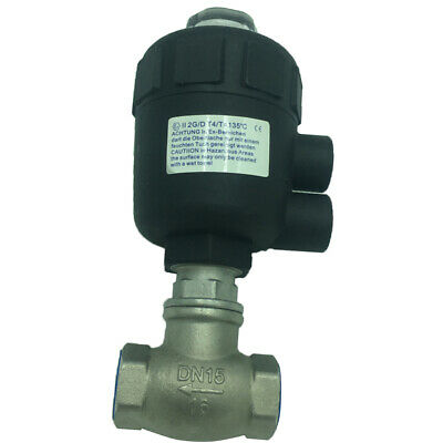 Pneumatic Straight Through Valve Ton Barrel Replacement for Oil Water Outlet