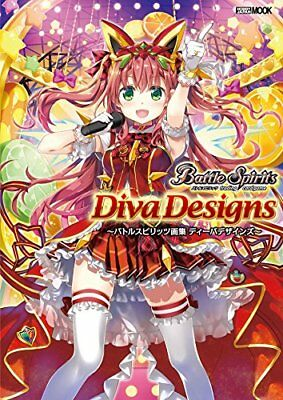 Battle Spirits Art Collections Diva Designs W/Bonus Article Livre Art de Japon