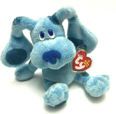 """BLUE the Nick Jr. Blues Clues Dog - TY Beanie Baby 6"""" - MINT TAGS"""