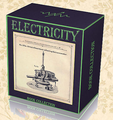 260 Electronics Electrical Engineering Books on 2x DVD Electricity Circuits  A0
