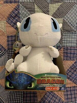 How to Train Your Dragon Hidden World Squeeze and Growl Lightfury Plush Toy