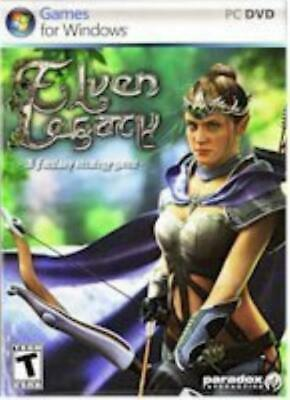 Paradox Ent Computer Game Elven Legacy Box SW