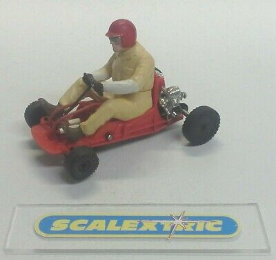 Scalextric Tri-ang 1960's Vintage K1 GO KART in RED (EXCELLENT RUNNER)