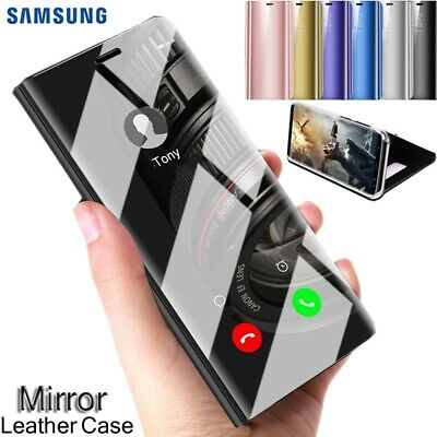 Luxury Touch Mirror Smart Flip Stand Case Cover for Samsung Galaxy S8 S9+ Plus