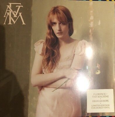 High As Hope - Florence And The Machine - Limited Edition Coloured Vinyl - Raro!