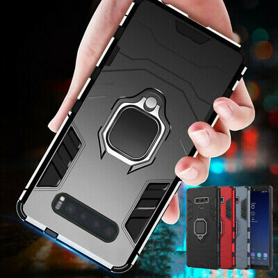 Shockproof Armor Ring Magnetic Case Cover For Samsung Galaxy S8 S9 S10 Plus S10e