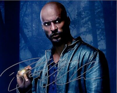 Signed 8x10 Photo A1 Coa Gfa Ricky Whittle Cast X6 American Gods