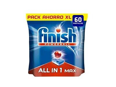 Finish Todo en 1 Max Regular (60 pastillas)