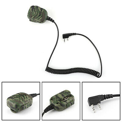 MT600 Handheld Speaker Mic For Kenwood TK-3107 TK-3207 Walkie Talkie Camo AU5
