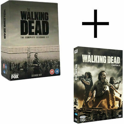 The Walking Dead Season 1-8 The Brand New and Box Set DVD Region 2 UK Free P&P