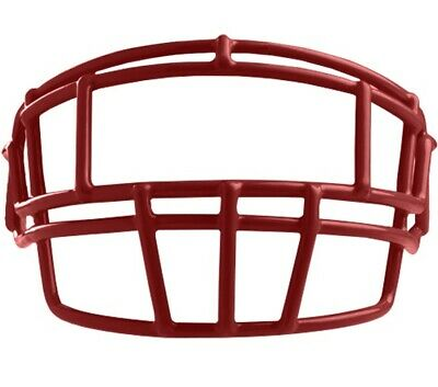 4b065f6a4fe8 New Rawlings SO2REG adult helmet facemask with hardware football face mask  red