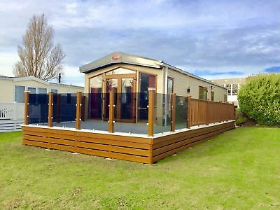 Holiday Home, Static, decking, Isle of Wight, Holiday park