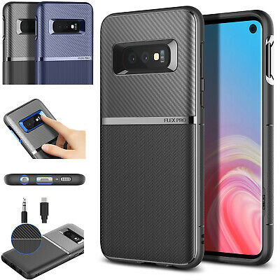 OBLIQ® Galaxy S10/S10 Plus/S10e E [Flex Pro] Slim Shockproof Protective TPU Case