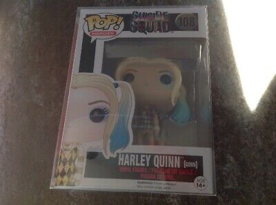 BN IN STOCK 29//5//19 FUNKO POP DC HEROES HARLEY QUINN WITH BOOMBOX PX EX