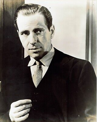 Humphrey Bogart Actor Photograph 10 x 8  Excellent Condition