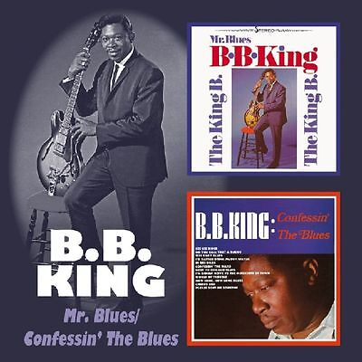 B.B. King ‎– Mr. Blues/Confessin' The Blues, Import, Original Remastered, NEU!
