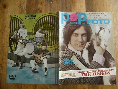Popfoto 1966:Kinks/Rolling Stones/Monkees/Byrds/Who/Small Faces/Jim Reeves/Black
