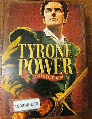 Tyrone Power Collection Dvd Set  5 Movies  Blood And Sand  The Black Rose