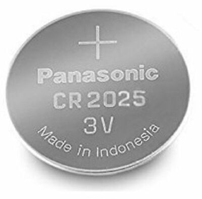 1 Panasonic CR2025 Lithium Coin Cell 3V Battery Car Key Fobs Toys Remote