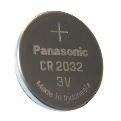 1 Panasonic CR2032 Lithium Coin Cell 3V Battery Car Key Fobs Toys Remote
