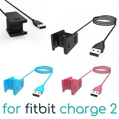 USB Charging Cable for Fitbit Charge 2 Band Bracelet Wristband Charger Lead