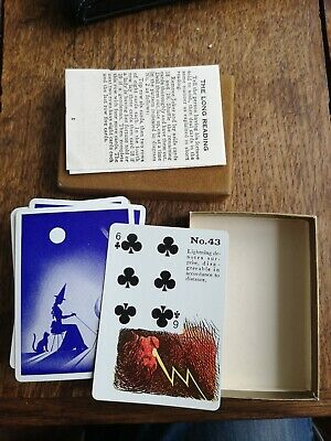 A Pack Of Vintage Gypsy Witch Fortune Telling Playing Cards
